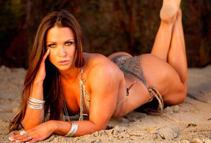 Оксана Гришина (Oksana Grishina) фитнес модель