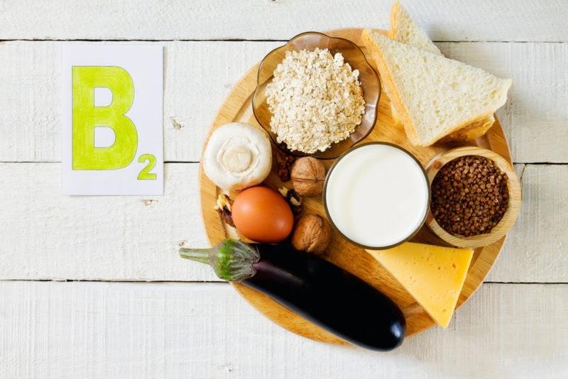 Витамин B2 и продукты