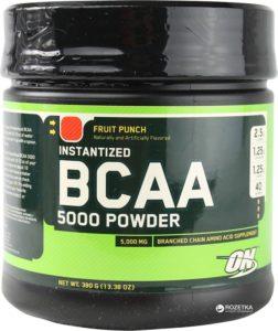 Баночка BCAA От Optimum Nutrition