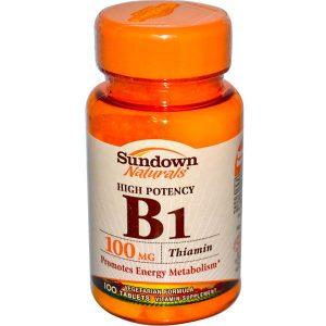 Тиамин (витамин В1) в оранжевой баночке