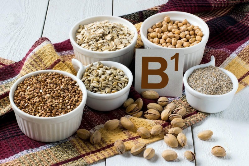 Тиамин (витамин В1) и продукты питания