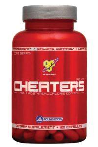 Баночка Cheaters Relief от BSN в капсулах