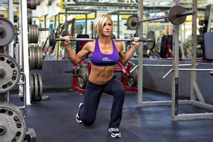 Джеми Исон (Jamie Eason) фитнес модель
