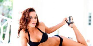 Ванесса Тиб (Vanessa Tib) фитнес модель