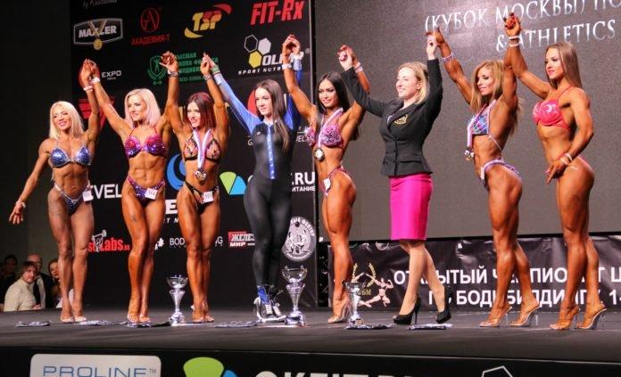 Фото девушек фитнес бикини на сцене