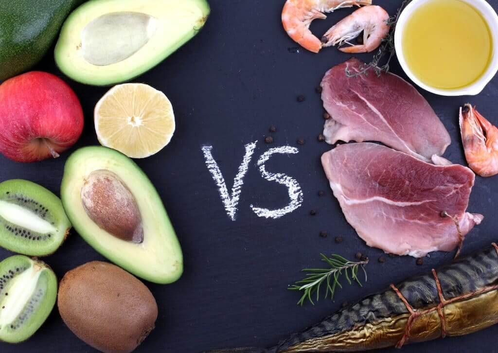 Вегетарианство vs мясо