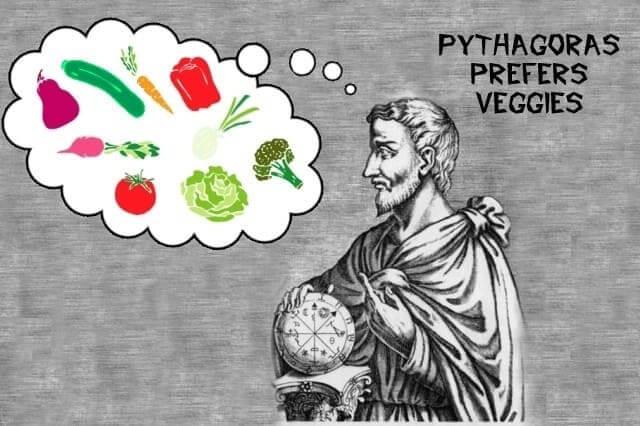 Пифагор и вегетарианство