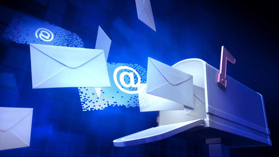 Обратная связь с сайтом email