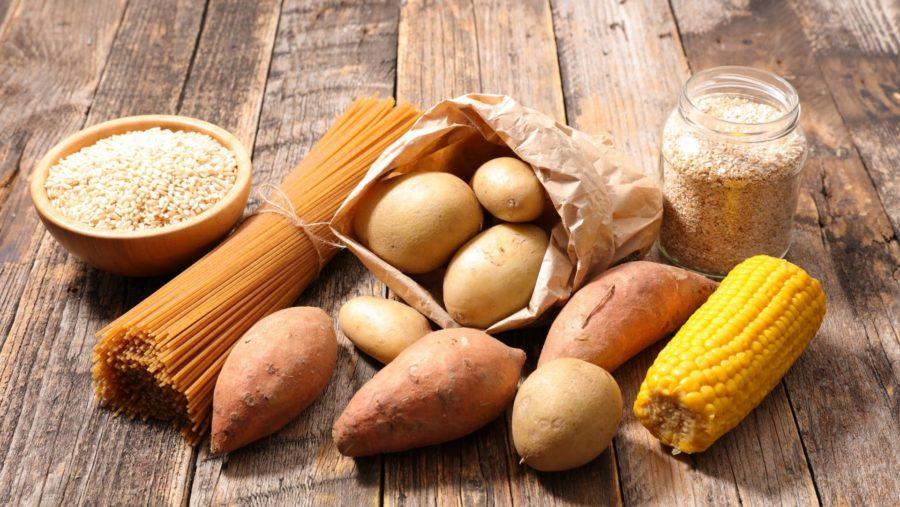 Кукуруза, картофель, макароны, рис, овсянка