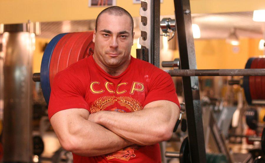 Константин Константинов в футболке СССР