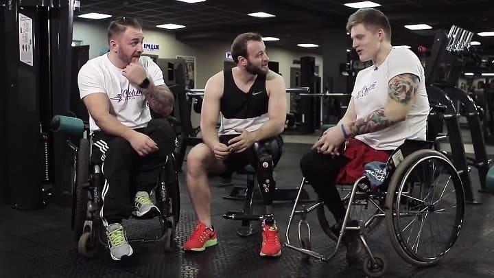 Люди с ограниченными физическими возможностями в тренажерном зале