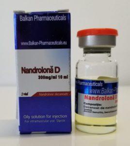 Флакон нандролон 10 мл, 300 мг действующего вещества от Balkan Pharmaceuticals