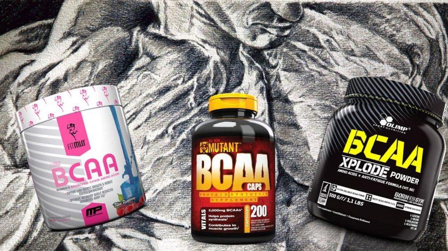 Популярные BCAA от FitMiss, Mutant и Olimp