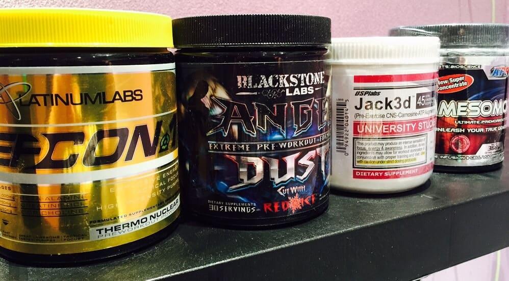 Jack3D от USPLabs, APS Mesomorph, Defcon 1 Platinum Labs (225 граммов, 30 порций)
