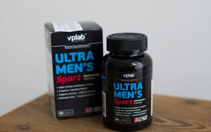 Ultra Mens Sport Multivitamin Formula от VP Laboratory