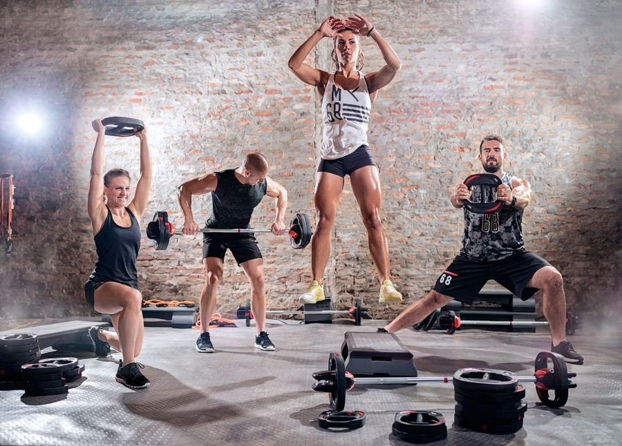Аэробные и анаэробные упражнения в спортзале