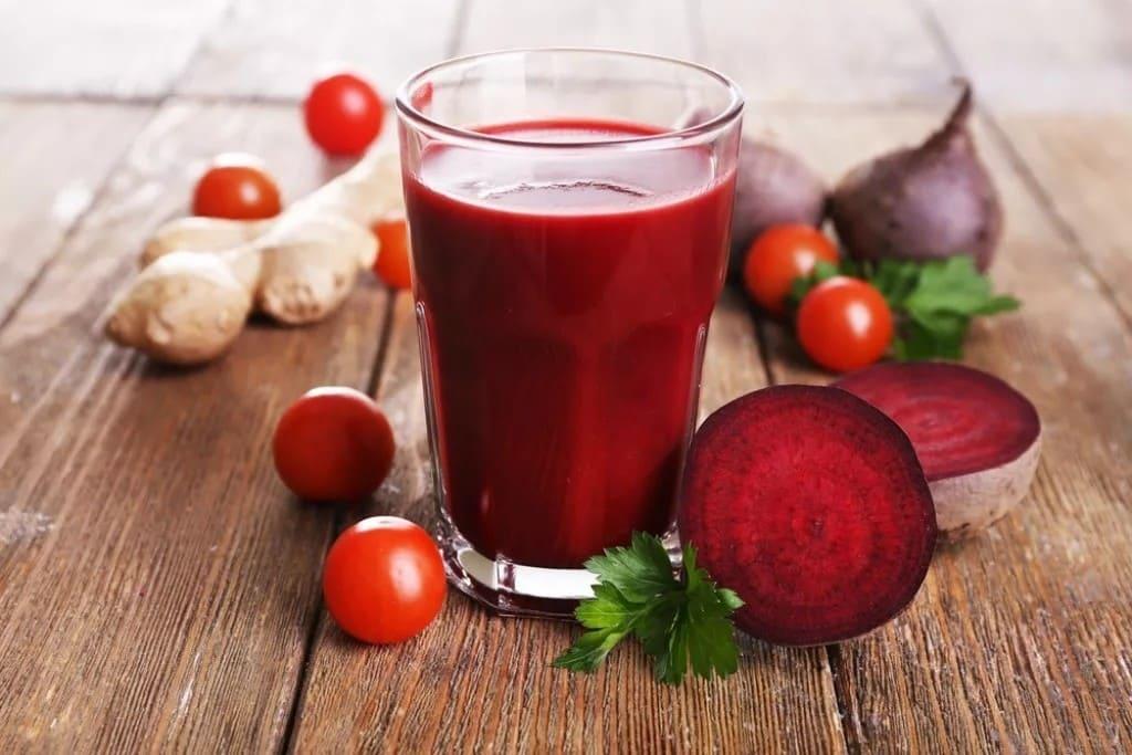 Свежевыжатый напиток для похудения