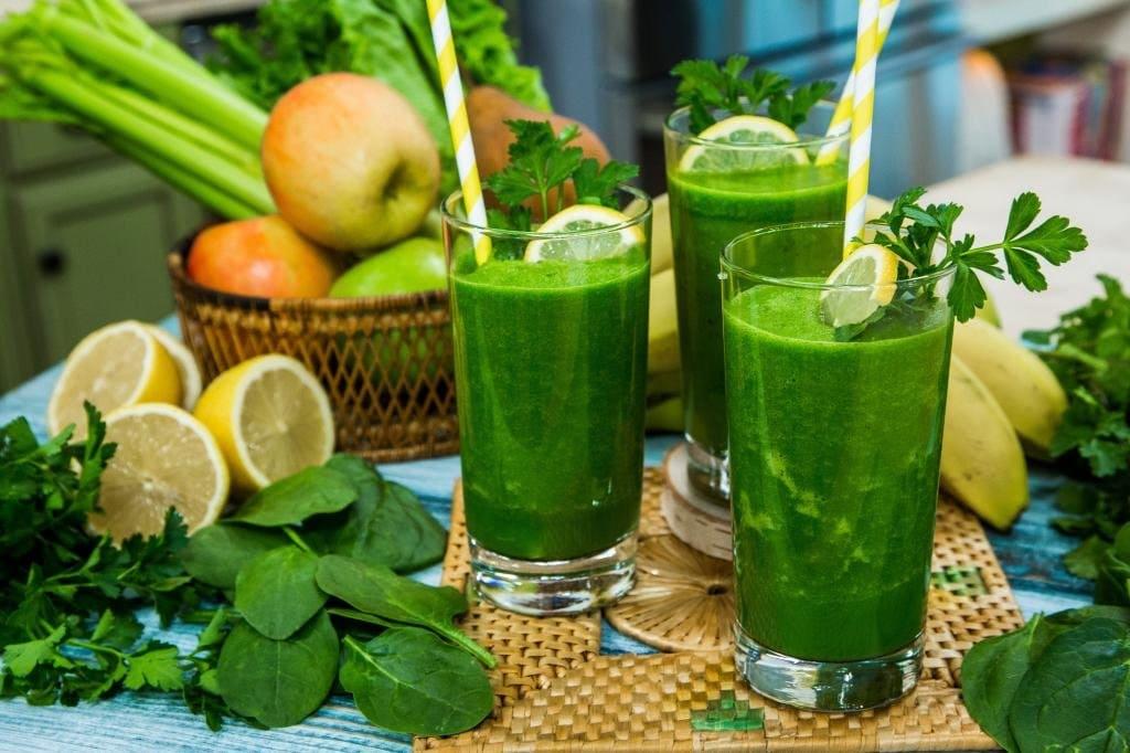 Сок из овощей для вегенов