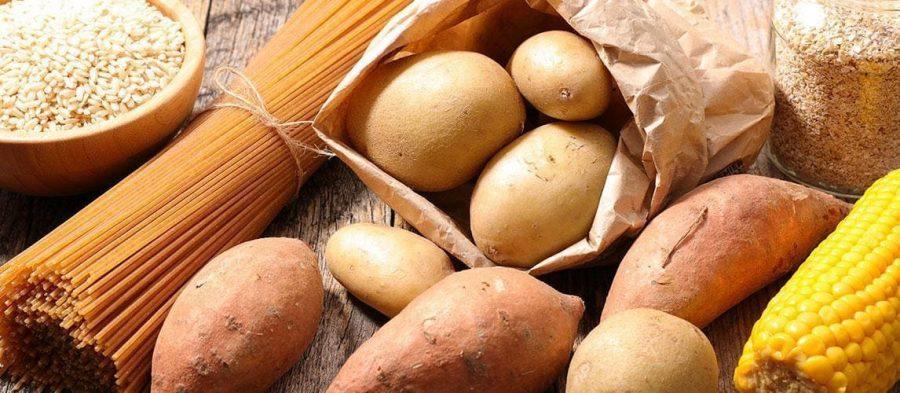 Картофель, макароны, кукуруза и рис