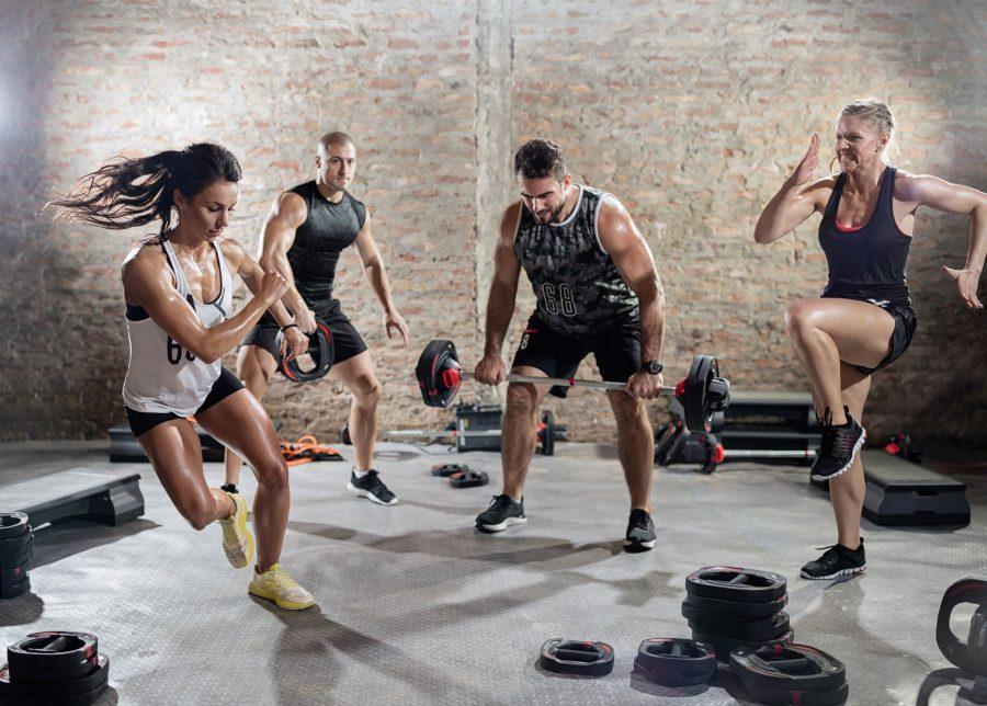 Силовые и кардио упражнения для увеличения смешенной выносливости