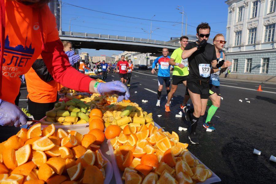 Марафонцы и апельсины