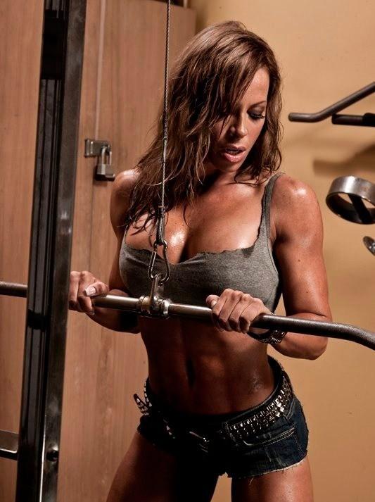 Ава Кован (Ava Cowan) фитнес модель
