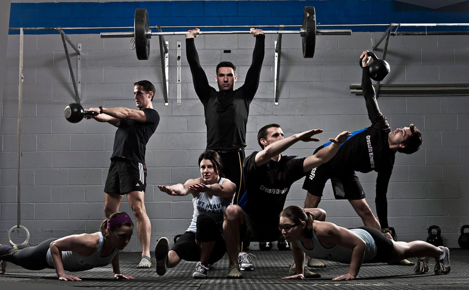 Различные аэробные и анаэробные упражнения для увеличения выносливости