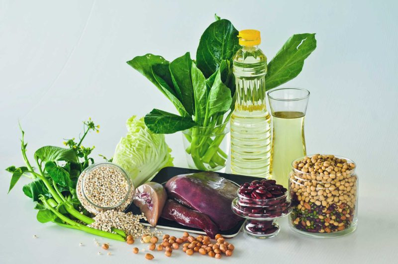 Молибден и пищевые продукты