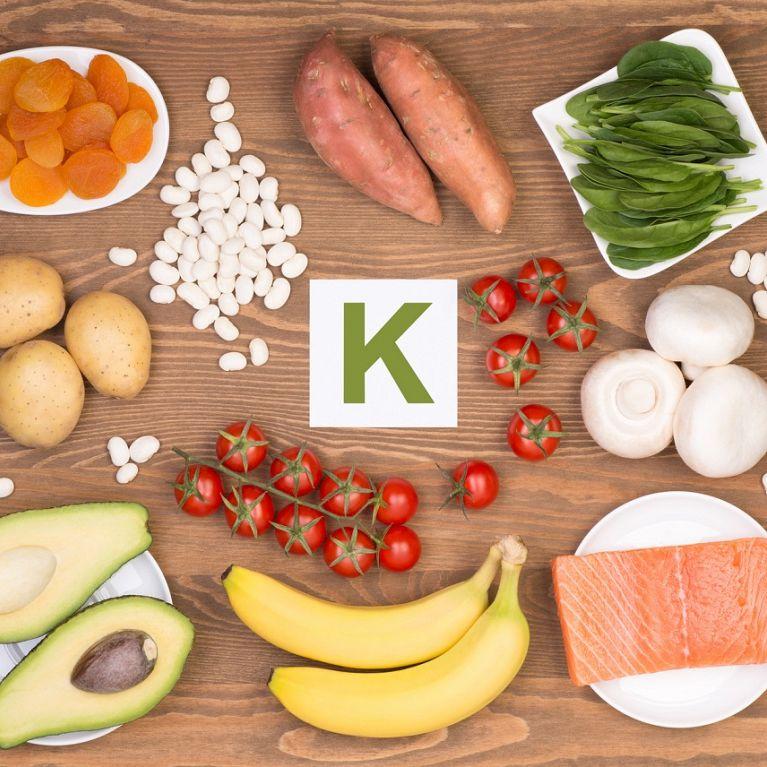 Микроэлемент калий (K) и пищевые продукты