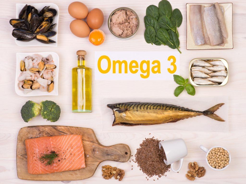 Продукты питания и Омега 3 жирные кислоты