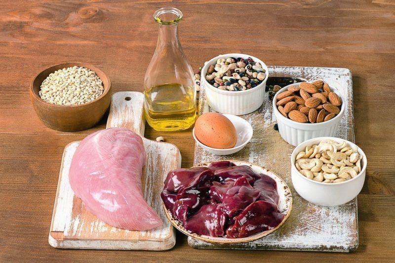 Селен в пищевых продуктах