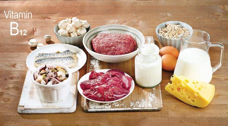Витамин В12 и пищевые продукты
