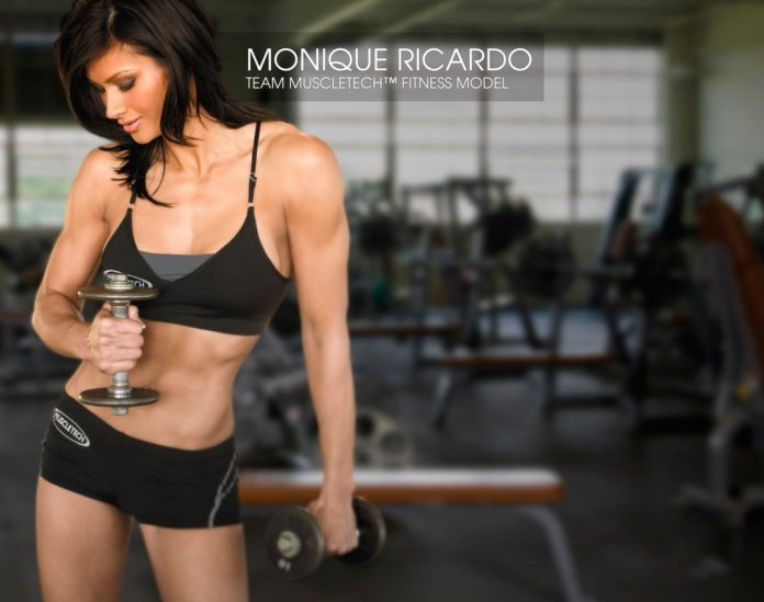 Моника Минтон (Monique Minton) фитнес модель